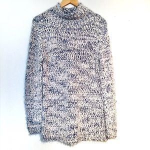 NWT Chelsea & Theodore Funnel Neck Boucle Knit (L)